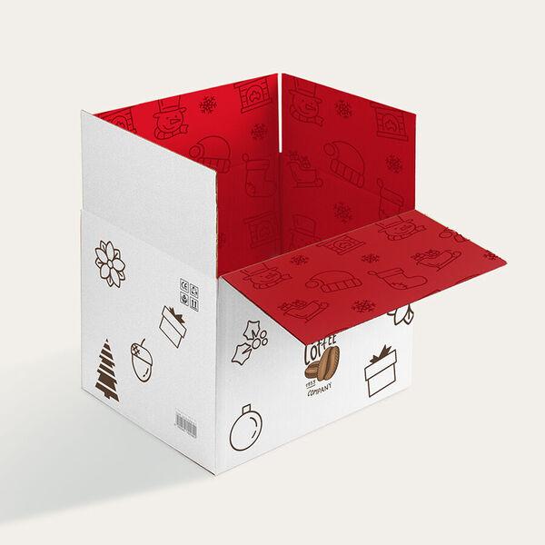 holiday shipping boxes