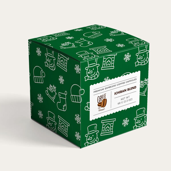 holiday green gift boxes