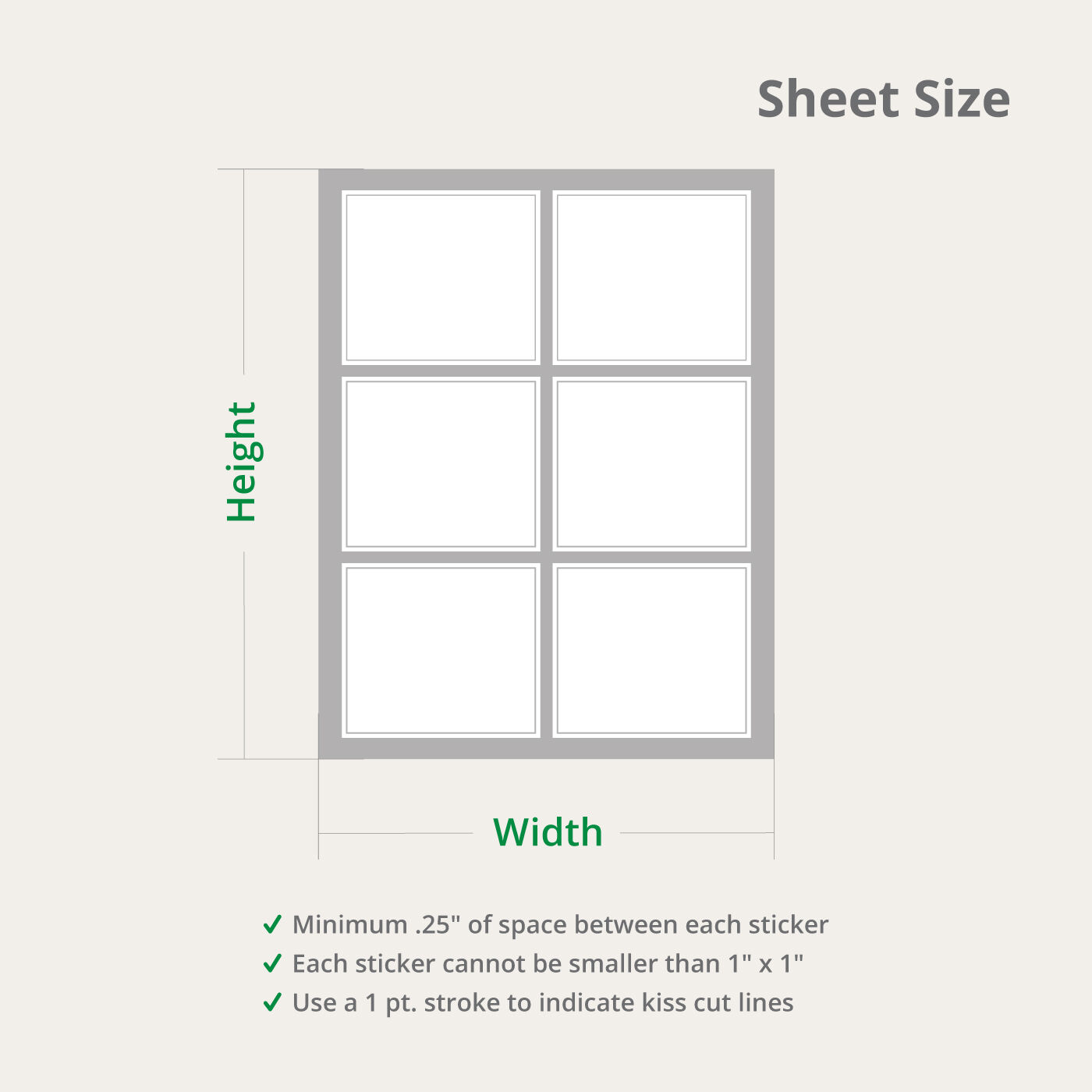 Sheet Size