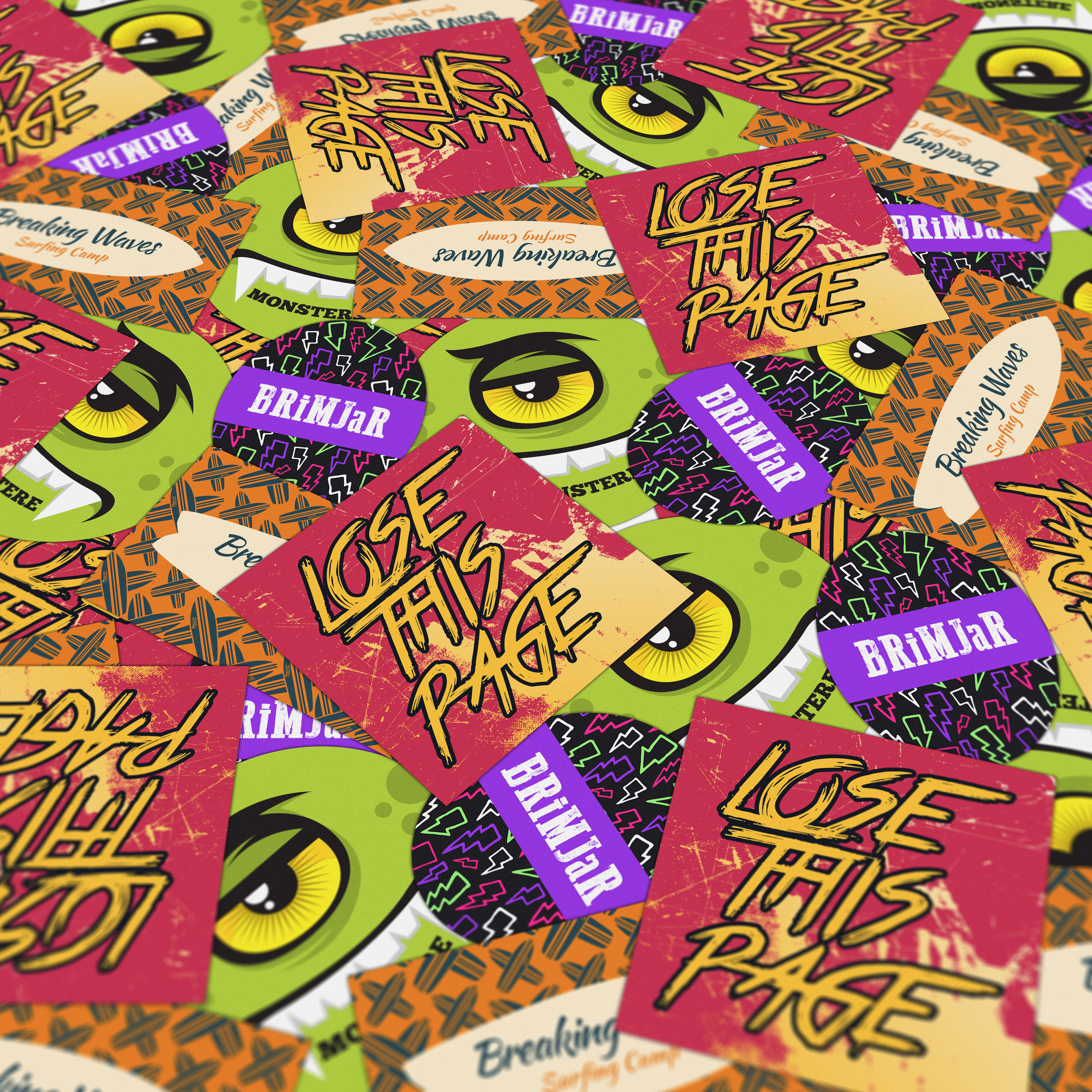 Skateboard Stickers