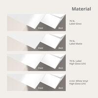 Die-Cut Labels Paper Type
