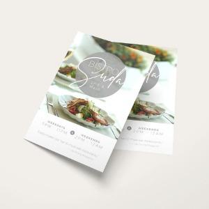 custom business flyers