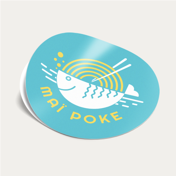 Custom Shape Stickers