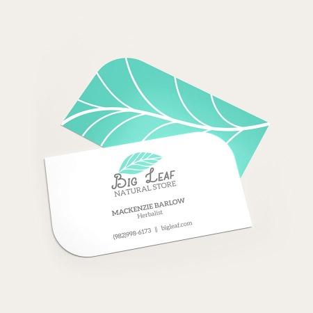 Print Leaf Business Cards