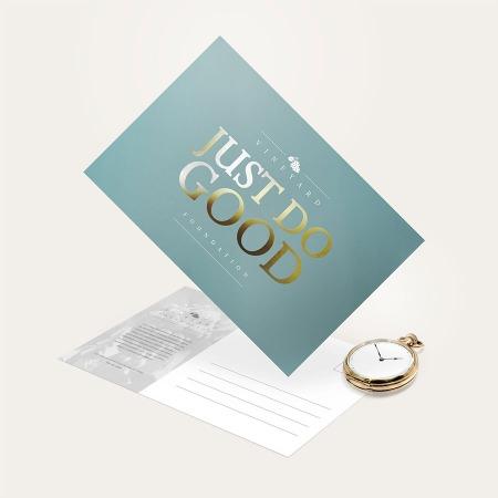 Foil Postcard Printing