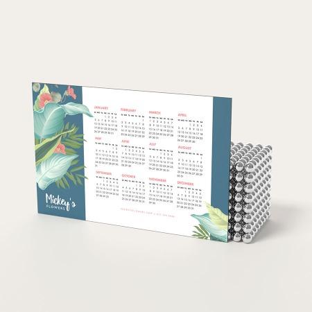 Magnetic Calendar Printing