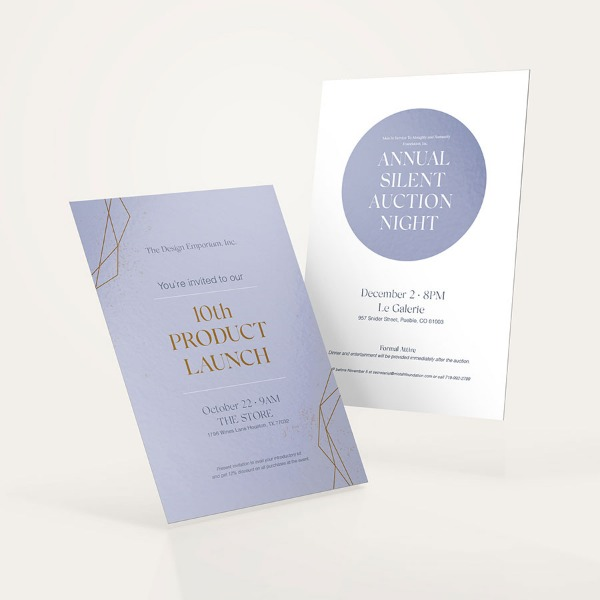 Discover The Right Invitation Size Uprinting Com