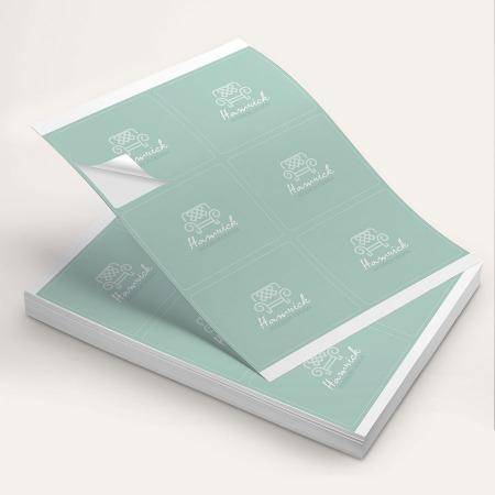 Sticker Sheet Printing