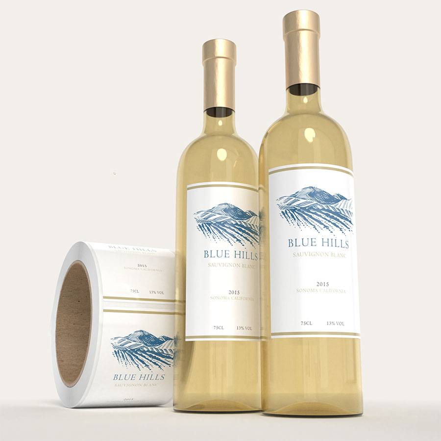 Wine Label Printing - Custom Shapes and