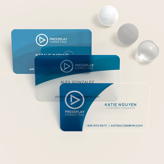 Plastic Business Cards Printing With