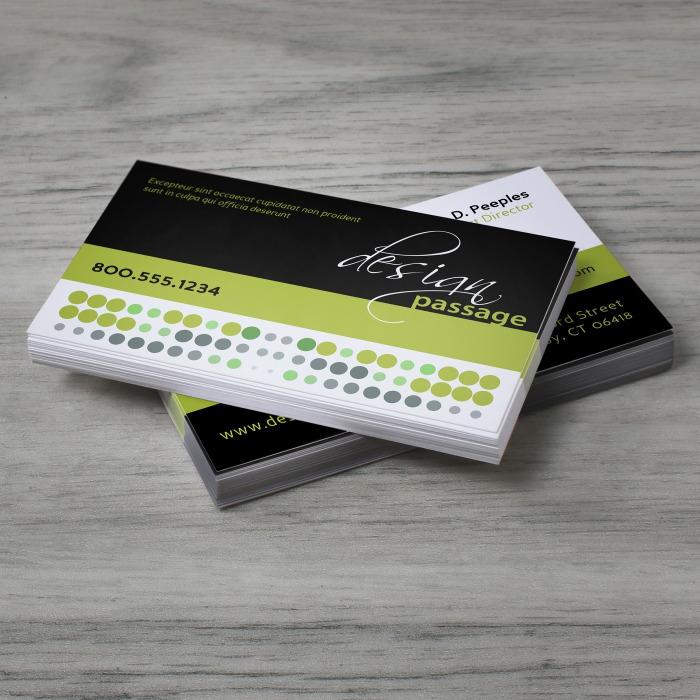 Custom printed Standard Business Cards