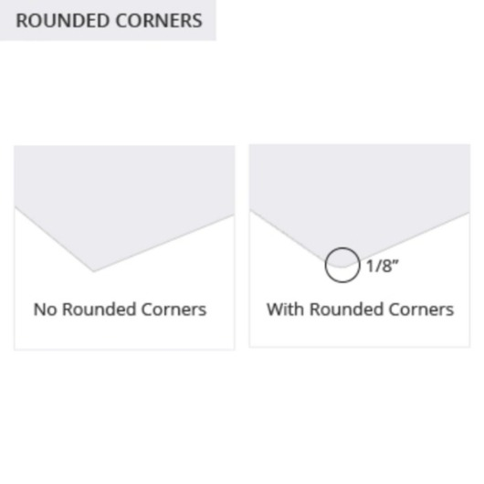 Labels Rounded Corners