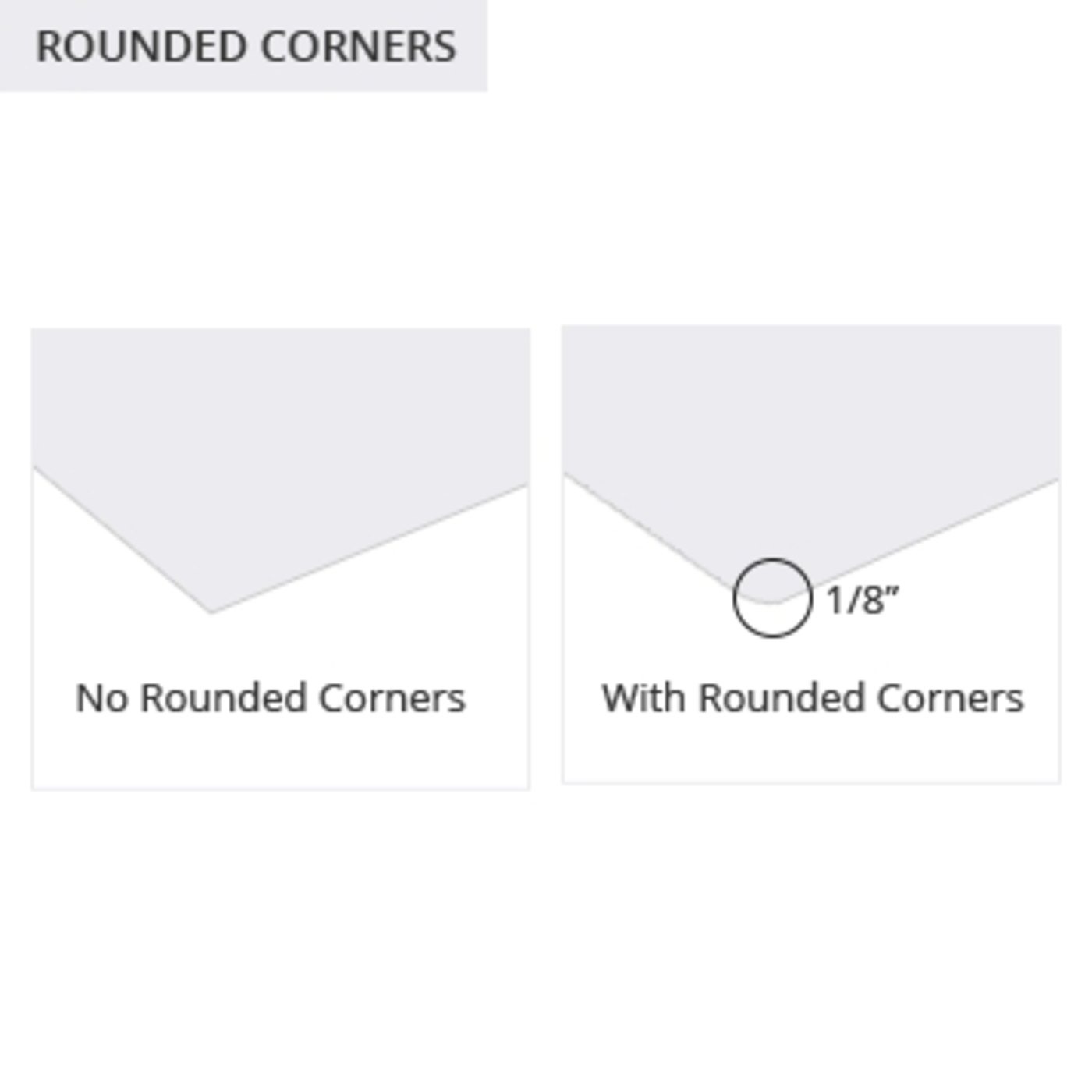 Discount Labels Rounded Corners